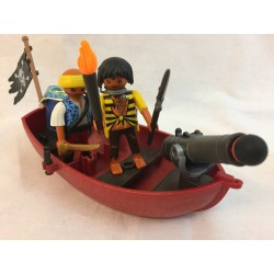 Playmobil 5137 Pirates avec barque