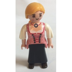 Playmobil personnage n°9 campagnarde pour 5422